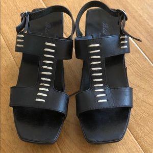 Robert Clergerie Platform Wedge Sandal Size 7